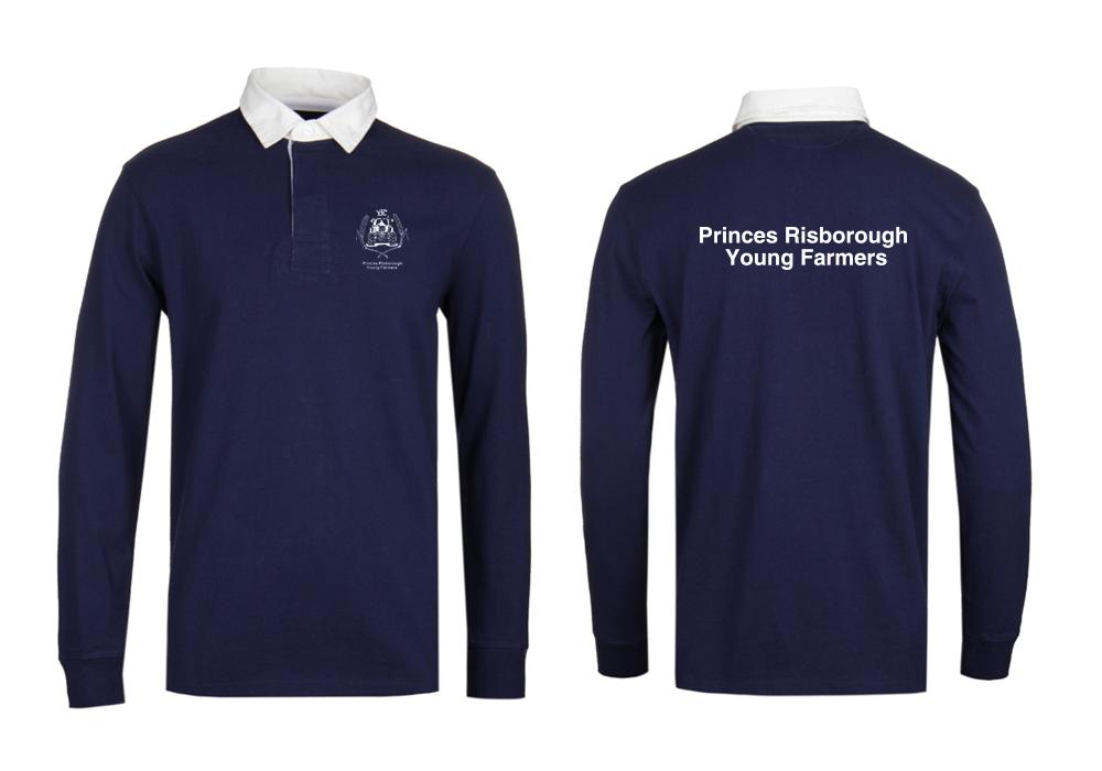 køb billigt engrossalg stort udvalg af Ladies Long Sleeved Rugby Shirt