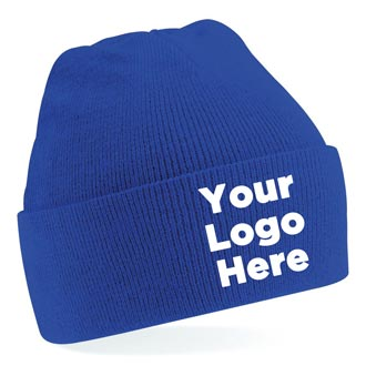 59930716a42 Personalised Caps   Beanie Hats - Embroidered