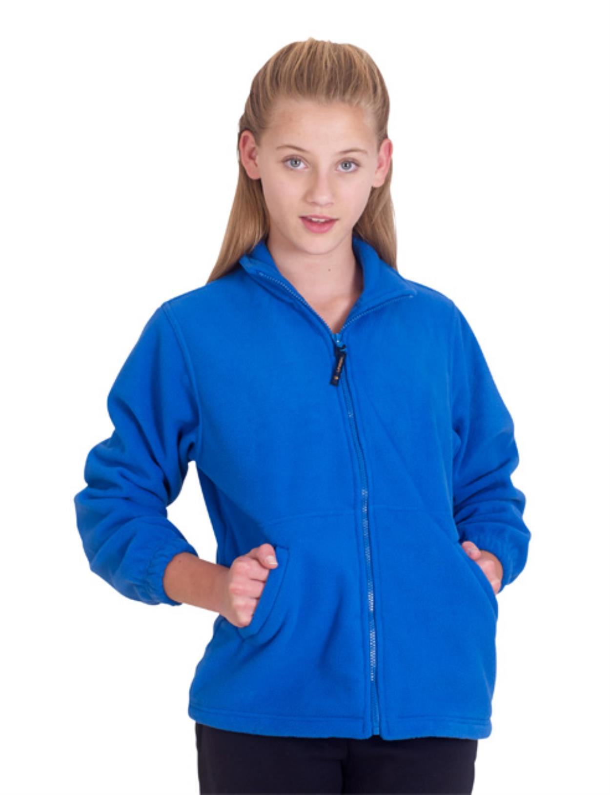 UC603 - Children's Full Zip Fleece