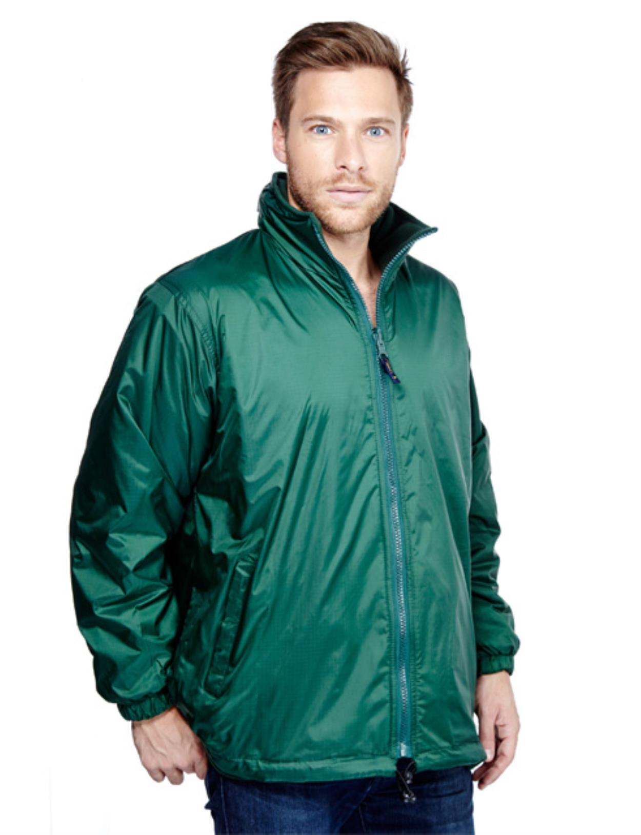 UC605 - Premium Reversible Fleece Jacket