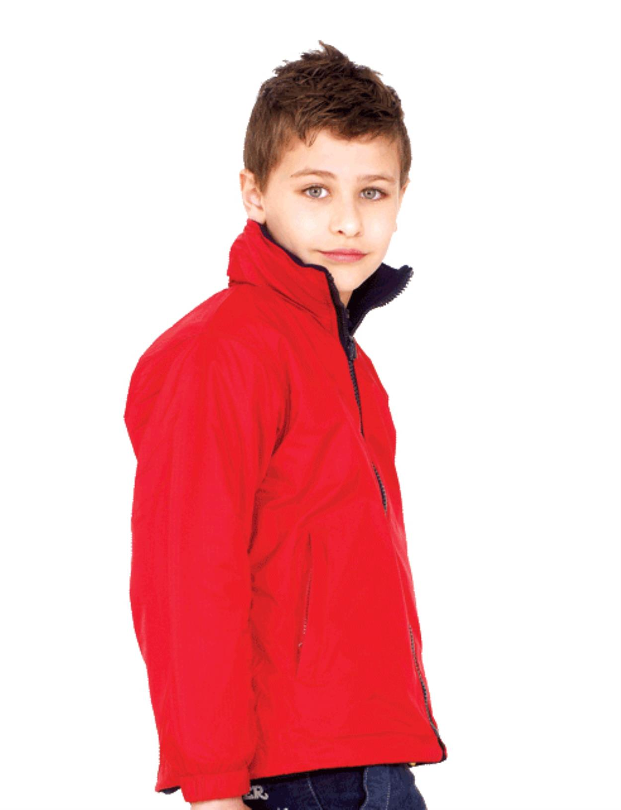 UC606 - Childrens Reversible Fleece Jacket