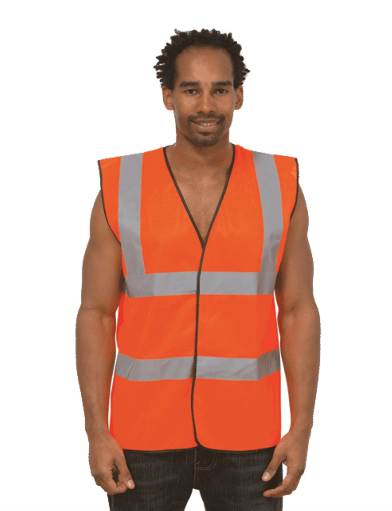 UC801 - Sleeveless Safety Waist Coat