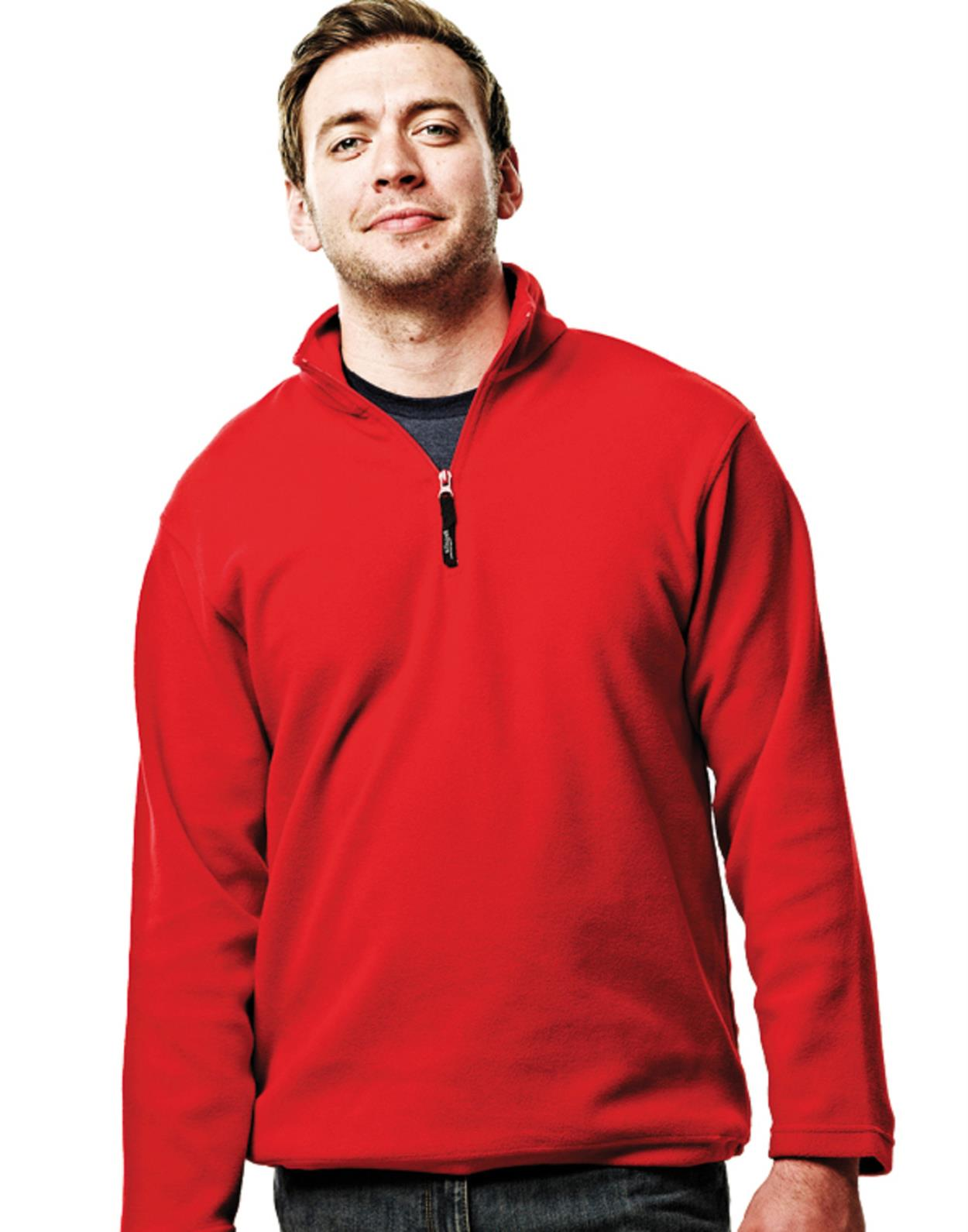 RG134 - Micro Zip Neck Fleece
