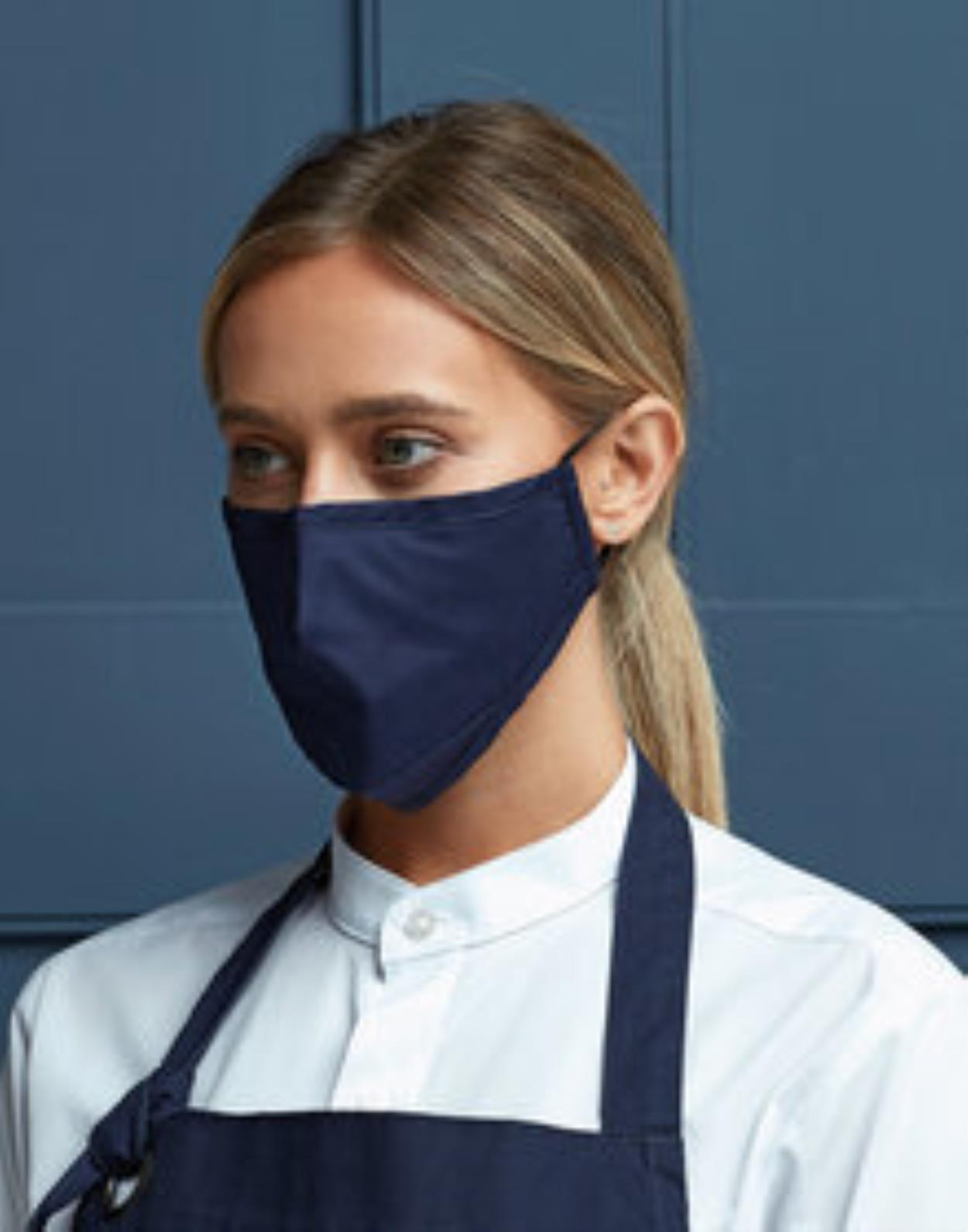 PR796 - Face Covering Protective 3 Layer Fabric Mask