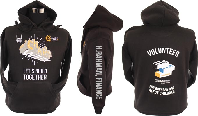 Islamic Relief Charity Week Hoodies