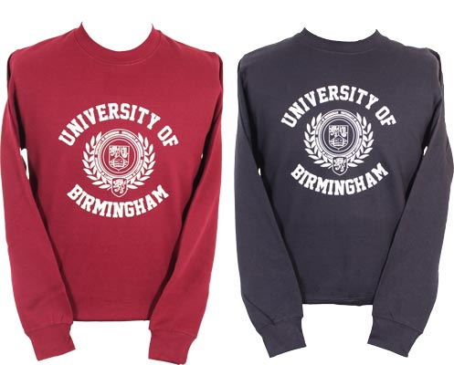University of Birmingham Shop Sweatshirts